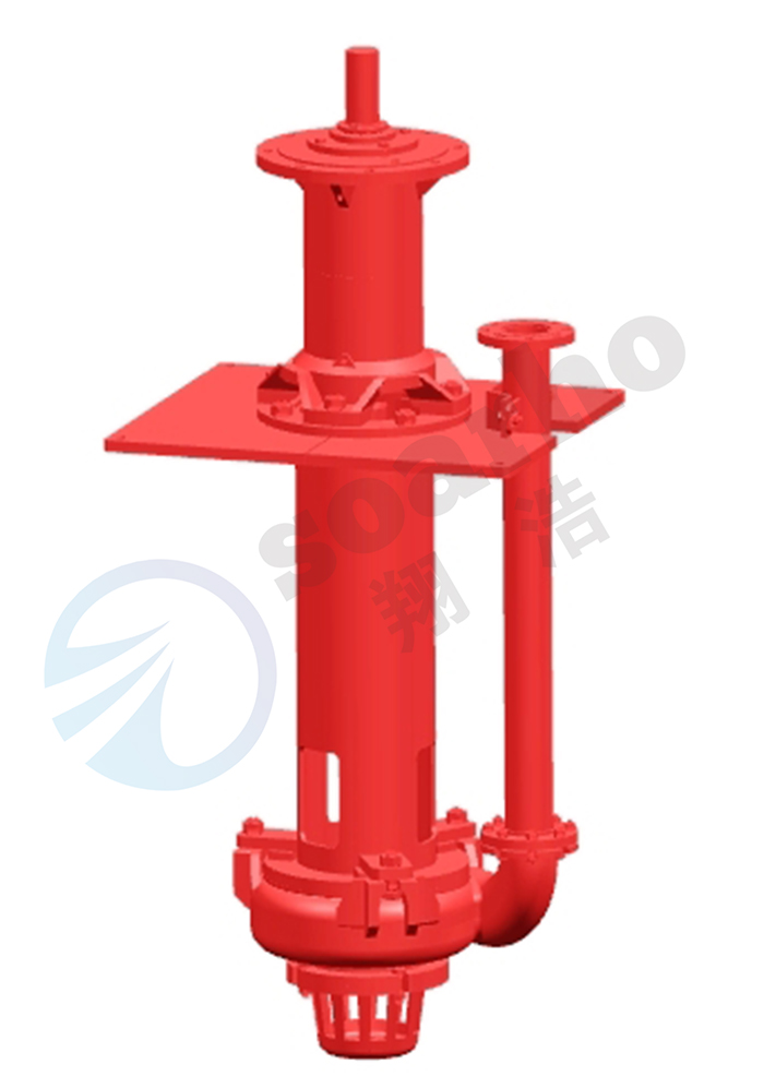 100RVL-SP Lengthening Sump Slurry Pump