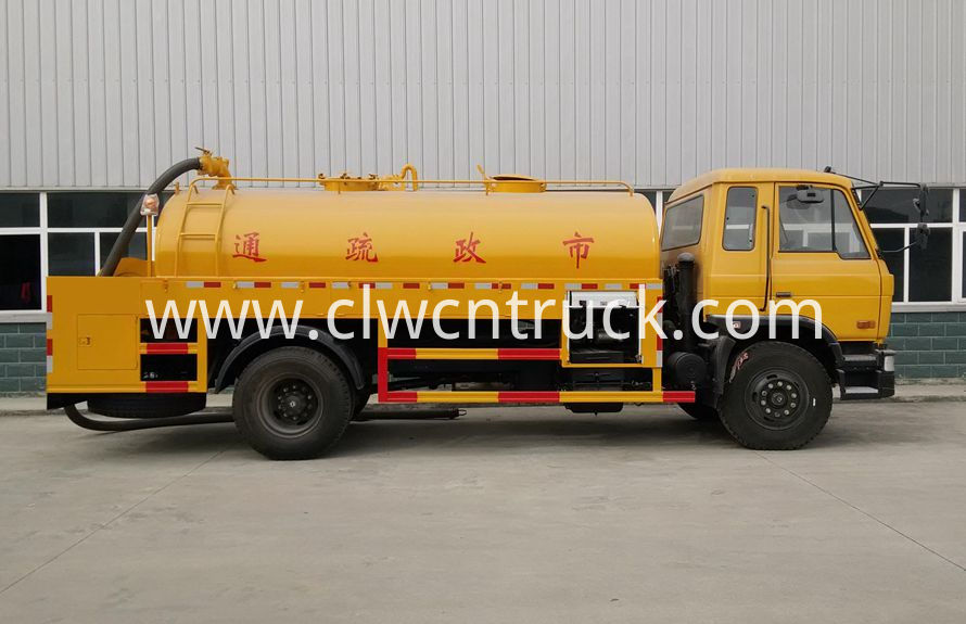High Pressure Cleaning Truck 2