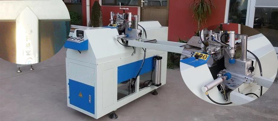mullion V cutting machines with cheap price