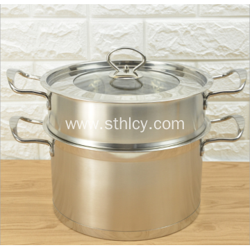 Popular Multi Function Stainless Steel Cookware Steamer Pot