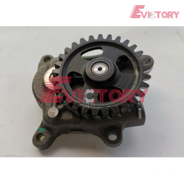 VOLVO parts D12D water pump D12D oil pump