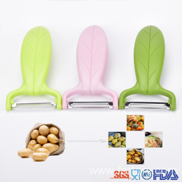 Cheap price for Fruit Peeler Stainless Steel Colorful Eggplant Fruit Vegetable Peeler export to France Suppliers