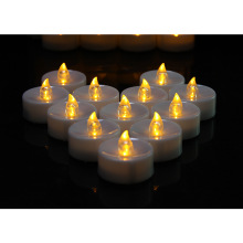 High Efficiency Factory for Pillar Shape Battery Candle Dancing flame led tea light candle for decoration supply to South Korea Exporter