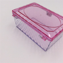 jewelry storage plastic boxes organizer