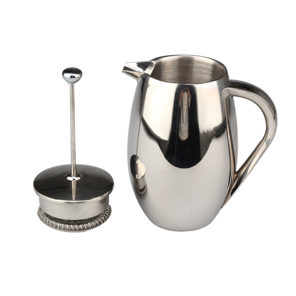 Double Walled French Coffee Press Maker