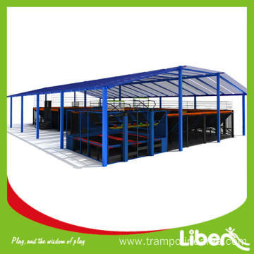 Big indoor trampoline park supplier