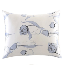 Mulberry Silk Floral Print Pillow Cases