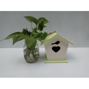 Hot sale good quality for Popular Wooden Bird House DIY Simple Wooden Birds House Hanging supply to Trinidad and Tobago Manufacturers