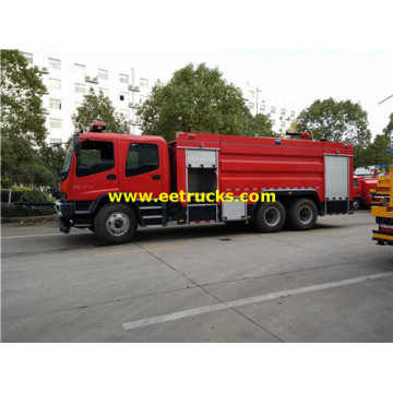 12m3 10 Wheel ISUZU Fire Trucks