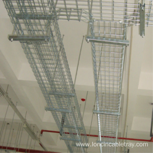 Factory Price for Mesh Type Cable Tray Hot dip galvanized aluminum alloy mesh cable tray supply to Namibia Factories