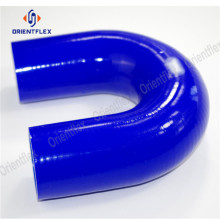 U shape 180 degree elbow silicone hose