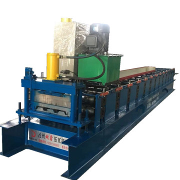Aluminum sheet siding wall panel roll forming machine