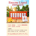 Enzyme liquide frais essence orange
