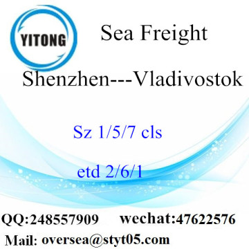 Shenzhen Port LCL Consolidation To Vladivostok