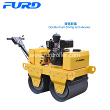 Walk behind Vibration Mini Compactor Road Roller