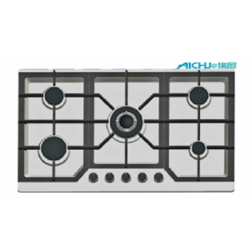Built In New Design 5 Burners Gas Hob