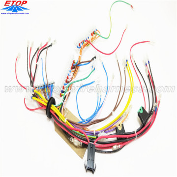 Complex Wire Harness Manufacturing Process for Automotive