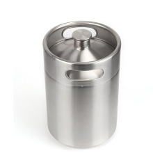 New Arrival China for Stainless Steel Beer Ice Bucket Container Bar Home Stainless steel beer Growler Fermenter Barrel export to Slovenia Factory