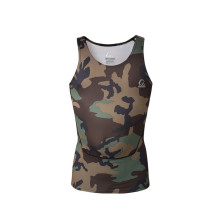 Customized for Mens Tank Top Mens Sportswear Dry-fit Spandex Compression Muscle Vest supply to Swaziland Factories