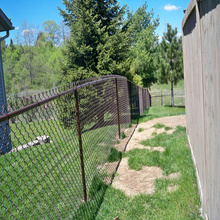 2 rail diamond vinyl fencing