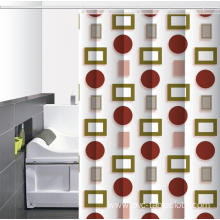 Waterproof Bathroom printed Shower Curtain India