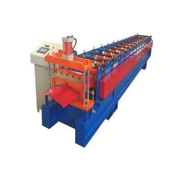 Factory wholesale price for Herringbone Ridge Cap Forming Machine Hydraulic Cutting Ridge Cap Roll Forming Machine export to Wallis And Futuna Islands Importers