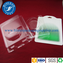 Convenient Plastic Slide Card Blister For Custom Packing