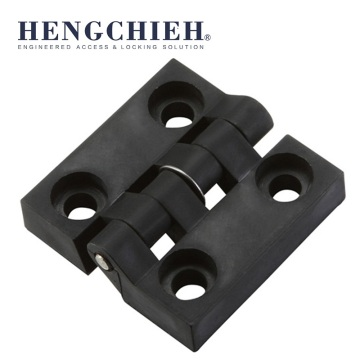 China for Plastic Hinges,Plastic Door Hinges,Small Cabinet Hinges Manufacturers and Suppliers in China Black Nylon Cabinet Door External Hinges export to Dominica Wholesale