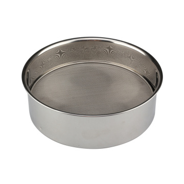 Flour Sifter for Baking Stainless Steel Sifter Flour