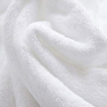 White Organic Micro Fiber Bath Towel Terry