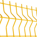 PVC coated mesh galvanized welded wire fence