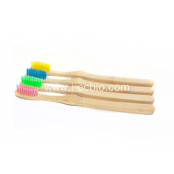 Natural Harmless Toothbrush Carbonized Bamboo Toothbrush