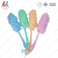 long handle bath sponge exfoliating bath brush cleaner