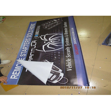 Marketing Outdoor Backdrop Hanging Advertising Banner
