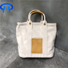 China for Large Cotton Tote Bag Canvas hand bill of lading shoulder slanting bag supply to United States Factory
