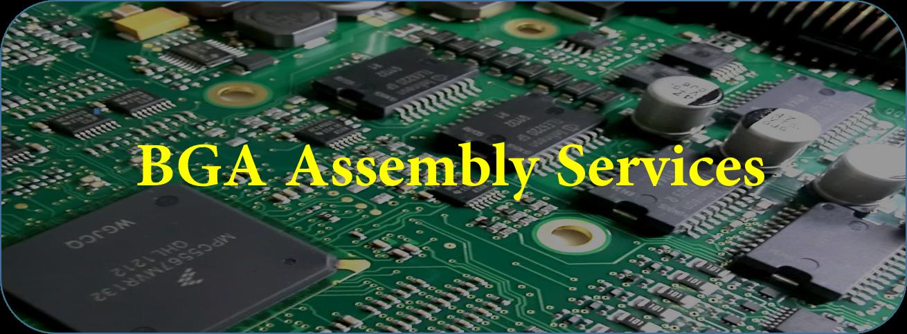 BGA PCB Assembly Services - JingHongYi PCB (HK) Co , Limited
