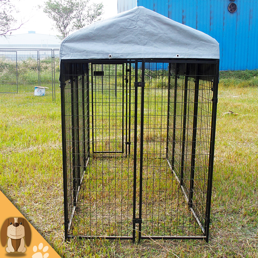 Large Outdoor Dog Kennel With Cover