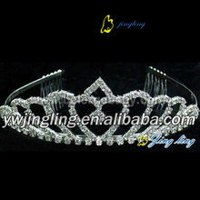 Customized for Pearl Wedding Tiara Crystal Wedding Jewelry For Girl export to Guinea-Bissau Factory