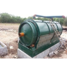 Daily rubbish plastic pyrolysis machine