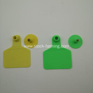 Various size plastic pig cattle animal ear tag