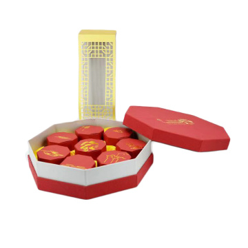 Custom Printed Paper Mooncake Packaging Box