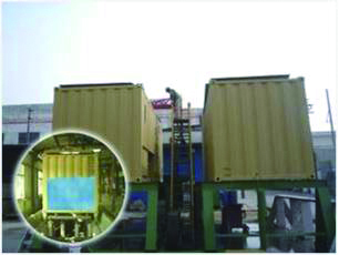 Bund test for Prefab Equipment Containerized Integration