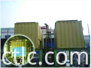 Bund test for Bulk Fuel Tank Container