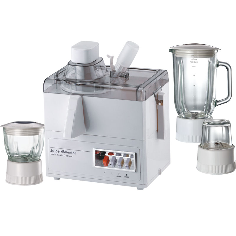 176 4 in 1 glass jar food processors