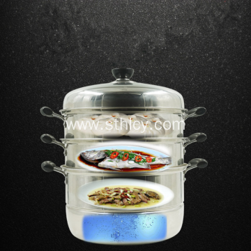 High Quality Multi Functional Stainless Steel Steamer Pot