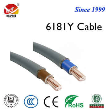 H05VV-U BVV 6181Y electrical wire and cable