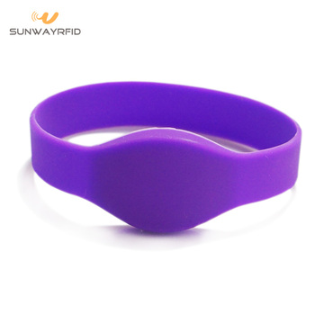 FDA Grade Waterproof RFID Silicon Wristbands for Events
