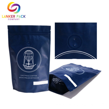 Custom Coffee Packaging Bags With Valve