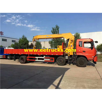 Dongfeng 6x2 12ton Truck Mounted Cranes