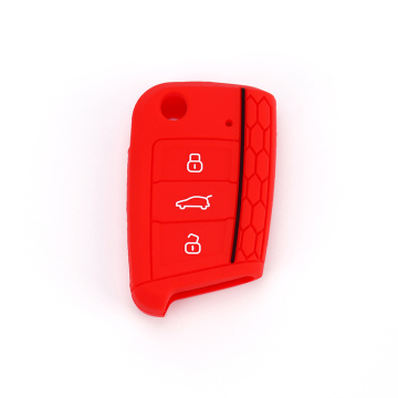 Volkswagen silicone key cover for Golf7 gti